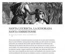 Santa Lucrecia, la ignorada santa emeritense