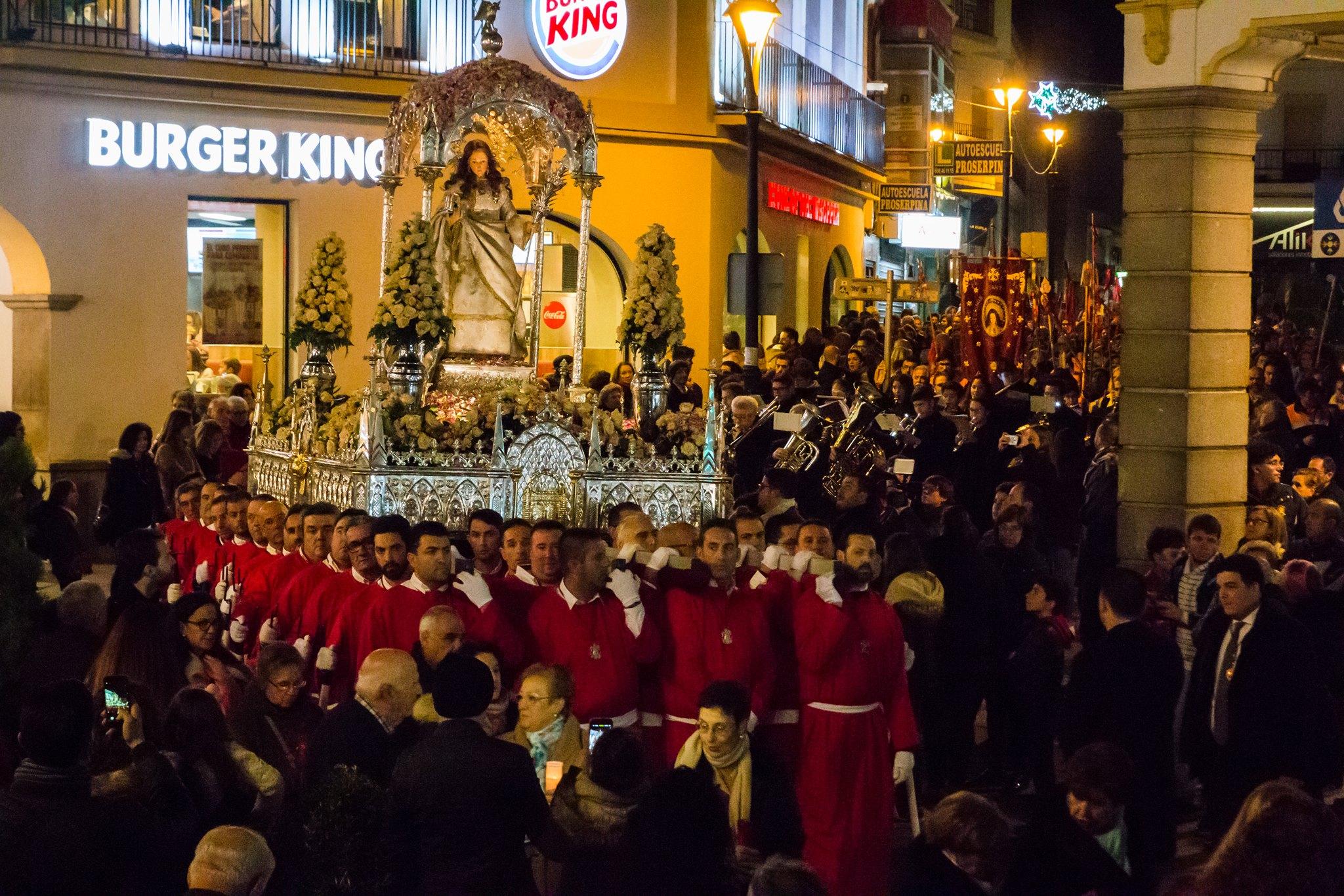 Procesión de Santa Eulalia 9 diciembre 2018
