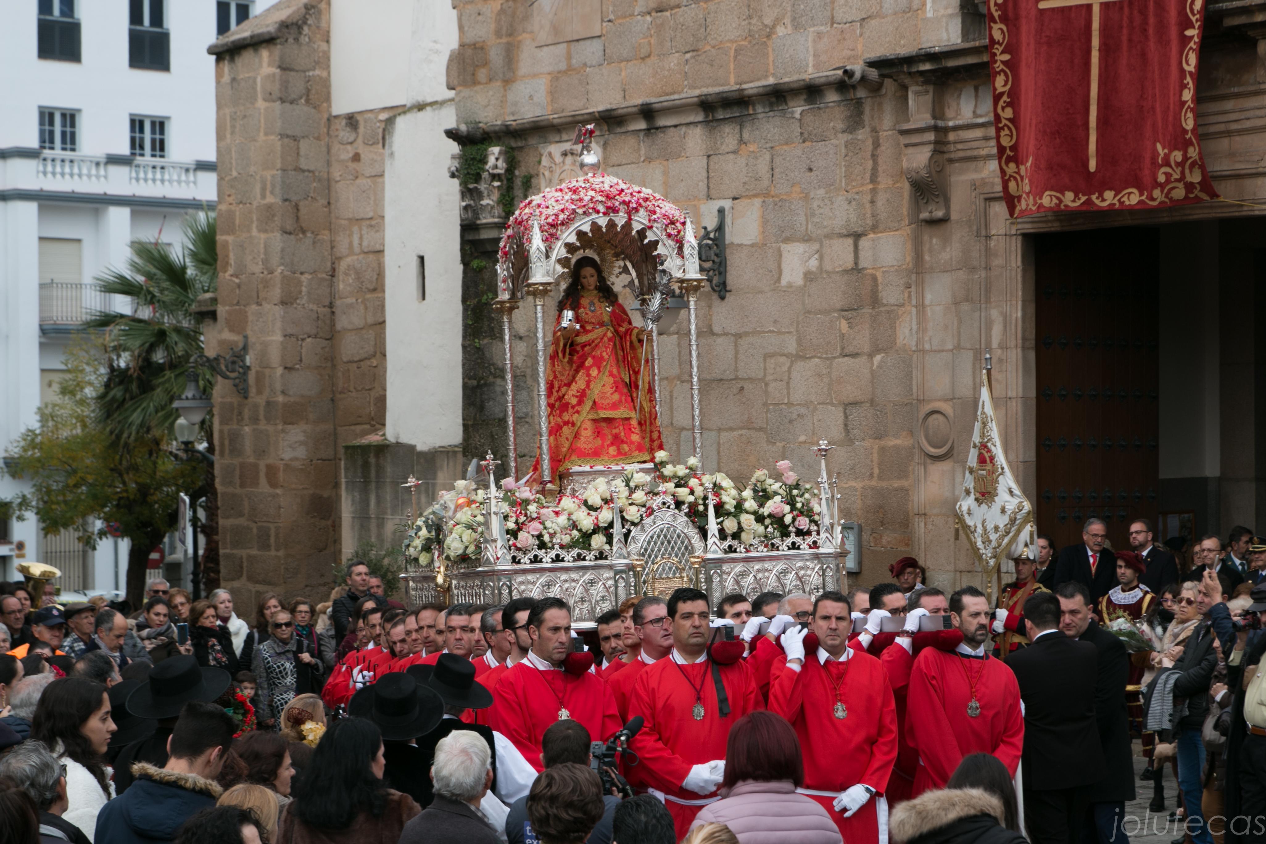Solemne Procesión Santa Eulalia 10 de diciembre