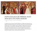 Santa Eulalia de Mérida. Algo más que una niña mártir.
