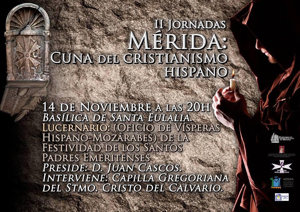 Lucernario Hispano-Mozárabe de los Santos Padres Emeritenses