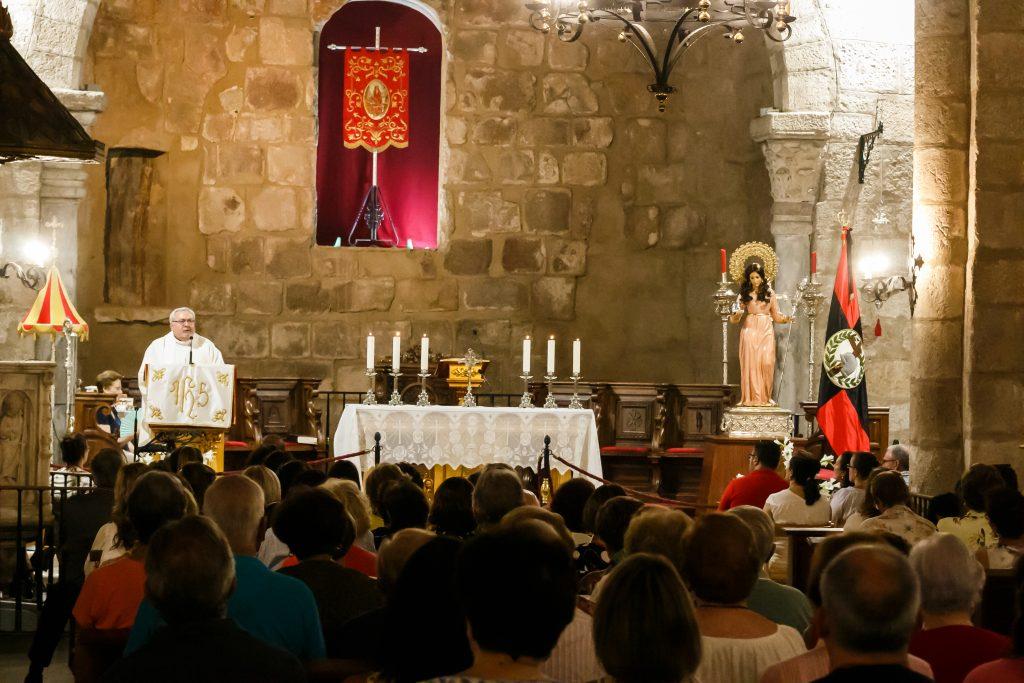 Segundo día del Trecenario a Santa Eulalia. El Amor de Dios
