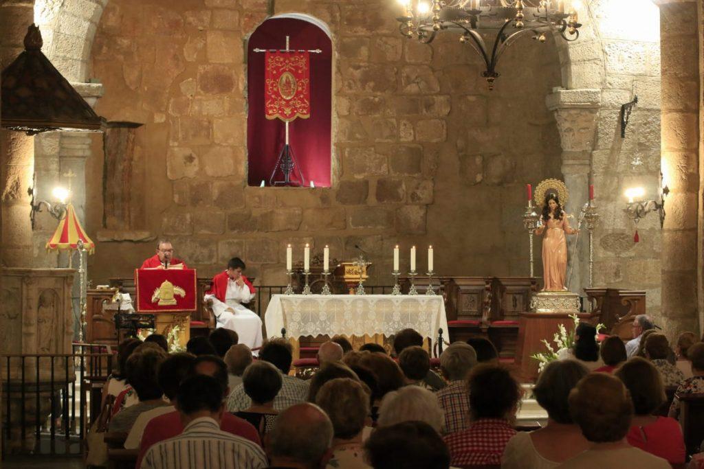 """Primer día del Solemne Trecenario en honor a Santa Eulalia. """"Amor y Caridad"""""""