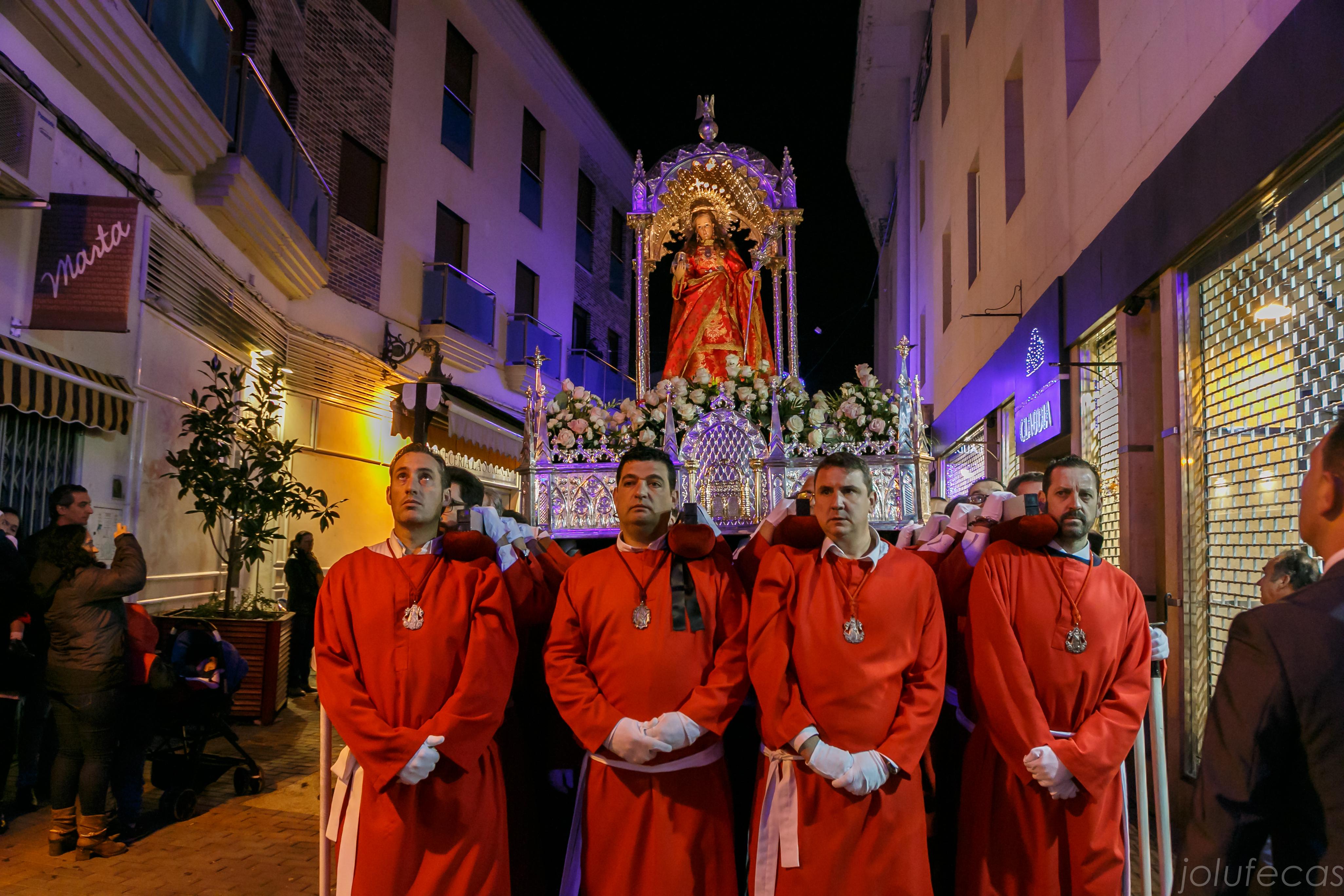 Procesión de vísperas. 9 de diciembre