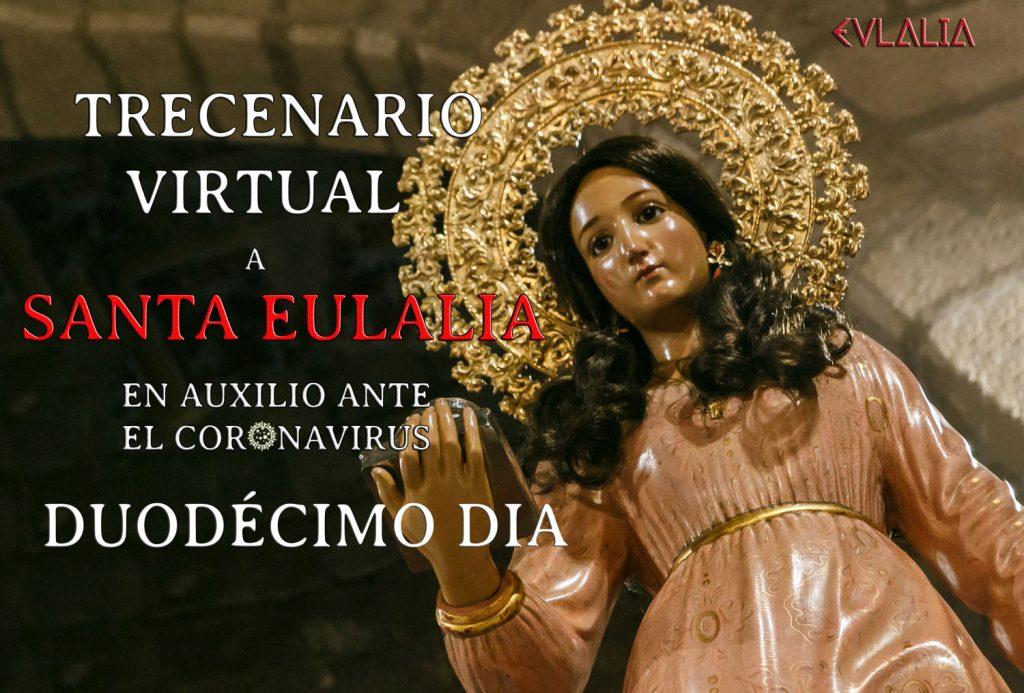 Trecenario Virtual a Santa Eulalia ante el coronavirus (XII)