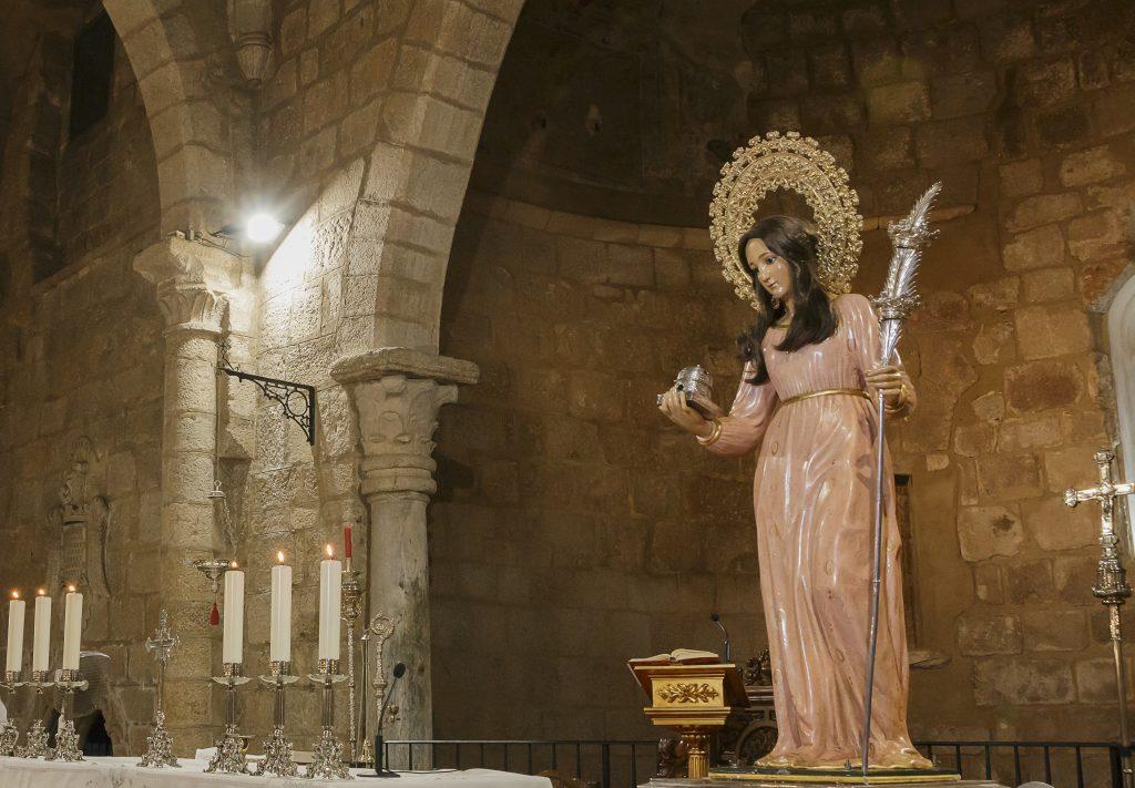El Trecenario Virtual a Santa Eulalia concluye con más de 7.500 visualizaciones